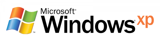 Microsoft Windows XP logo and wordmark